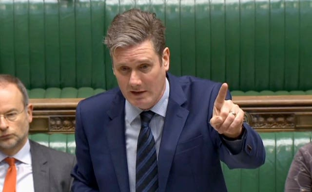 Shadow Brexit secretary Sir Kier Starmer