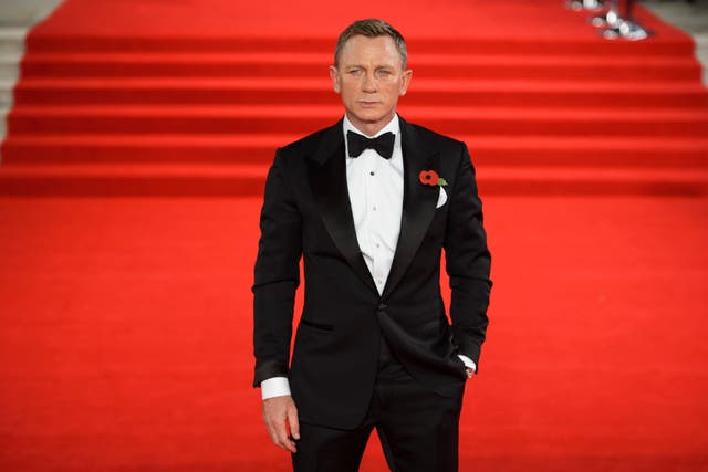 Daniel Craig attending the world premiere of Spectre (Matt Crossick/PA)