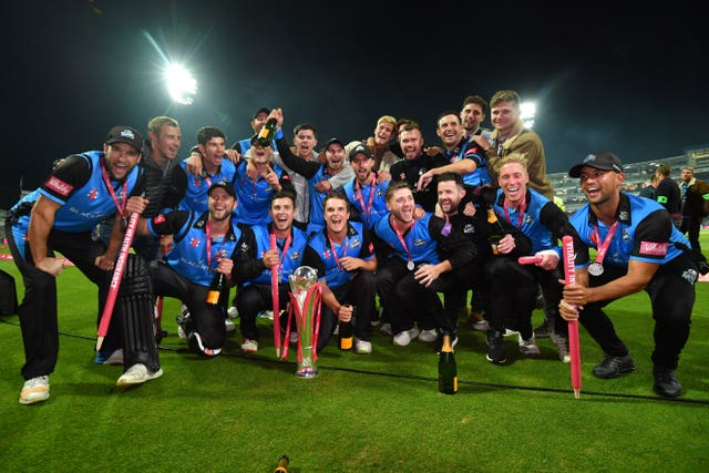 Mitchell was a part of Worcestershire's triumphant Vitality Blast campaign (Anthony Devlin/PA)