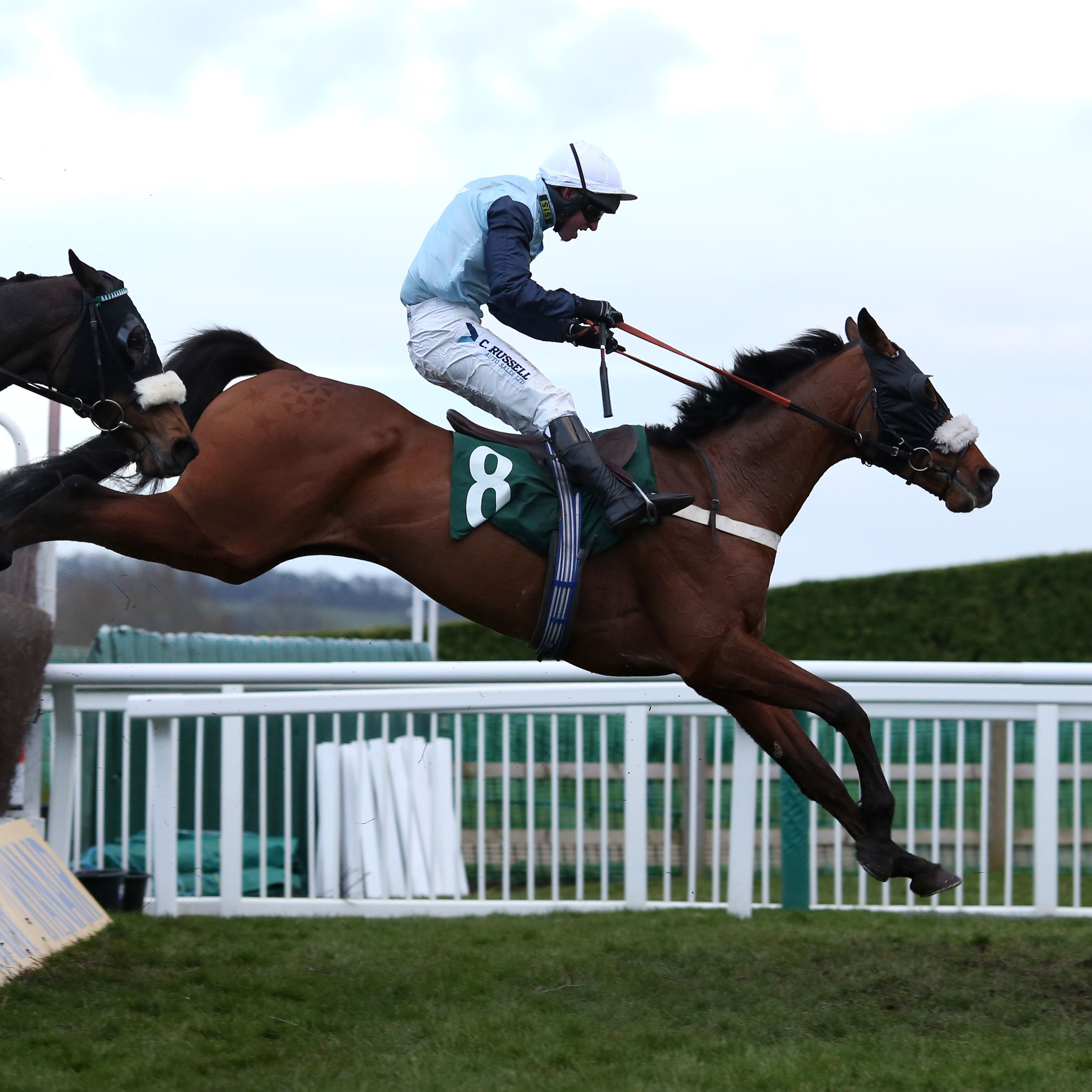 Missed Approach on his way to winning at the Cheltenham Festival