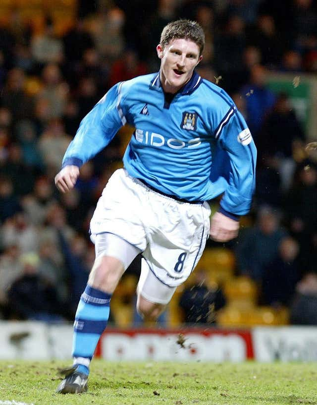 Jon Macken scored the winner for Manchester City against Tottenham