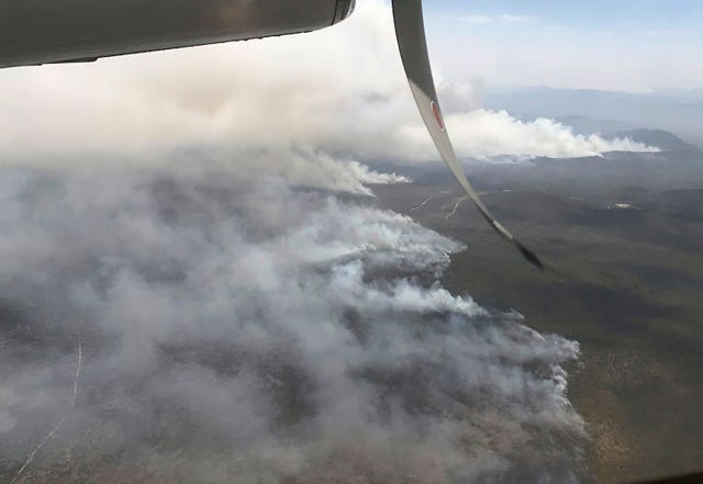 Wildfires in Queensland