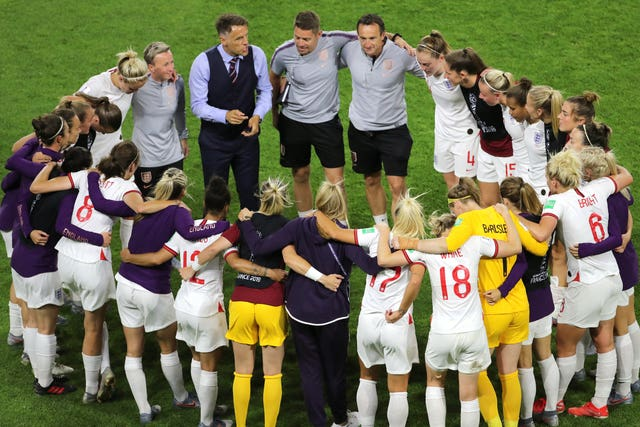 Phil Neville's England team finished fourth at the Women's World Cup