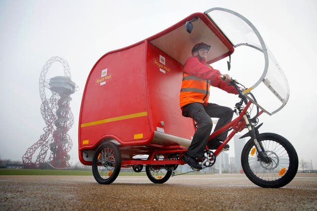Royal Mail e-trikes trial