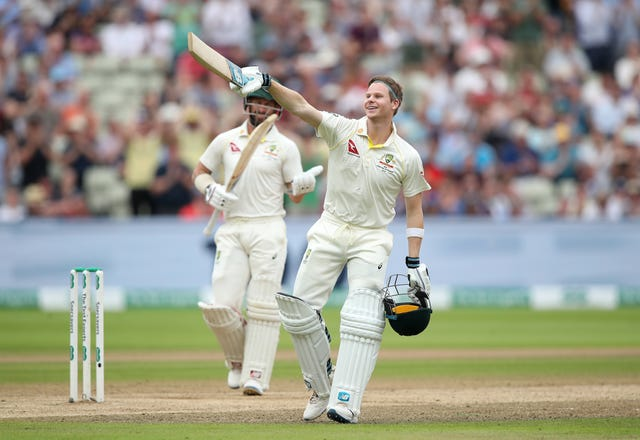 Steve Smith was sensational at Edgbaston last week (Nick Potts/PA)