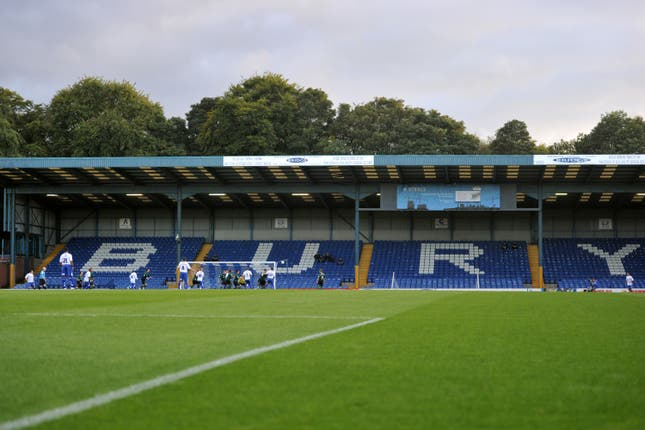 Fans fear Bury's Gigg Lane could soon become a former Football League ground