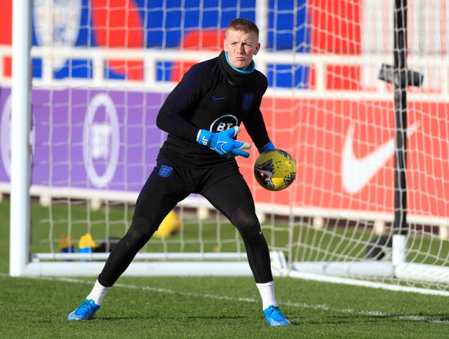 Jordan Pickford could face competition for the England number one jersey ahead of Euro 2020