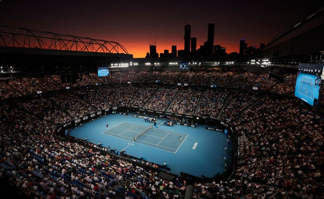Roger Federer and Novak Djokovic played in front of a packed house
