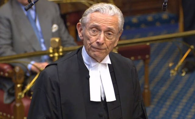 The Lord Speaker, Lord Fowler