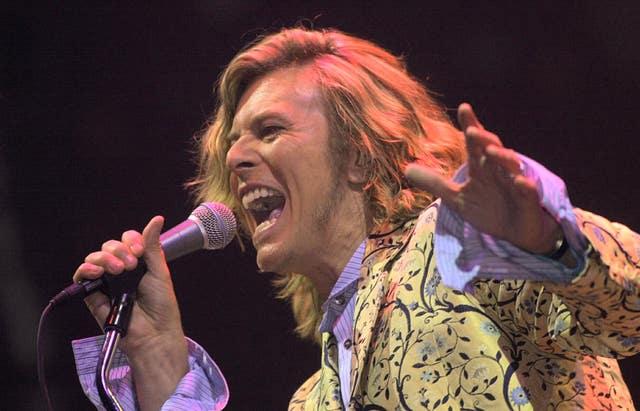Glastonbury Festival Bowie