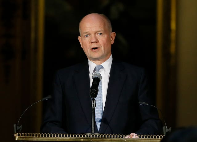 Lord Hague said Mr Johnson should update Parliament before addressing the nation