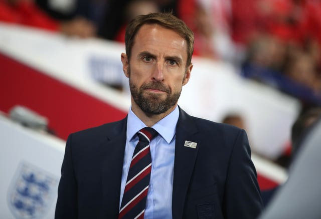 Gareth Southgate saw his team struggle to hit the heights