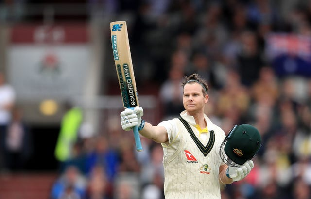 Smith returned from concussion at Old Trafford and scored 211 in the first innings as Australia claimed control
