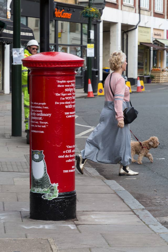 Royal Mail postboxes