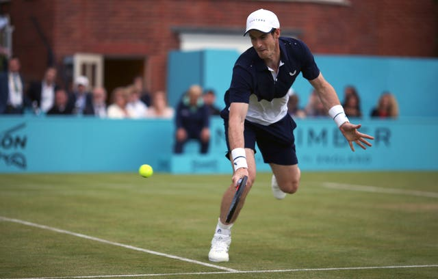 Murray has not yet put himself through the physical rigours of singles