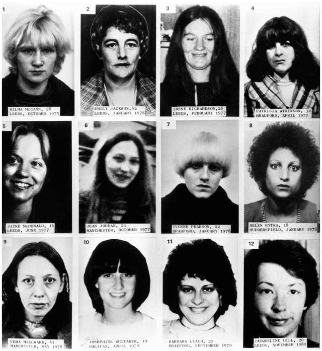 Yorkshire Ripper victims