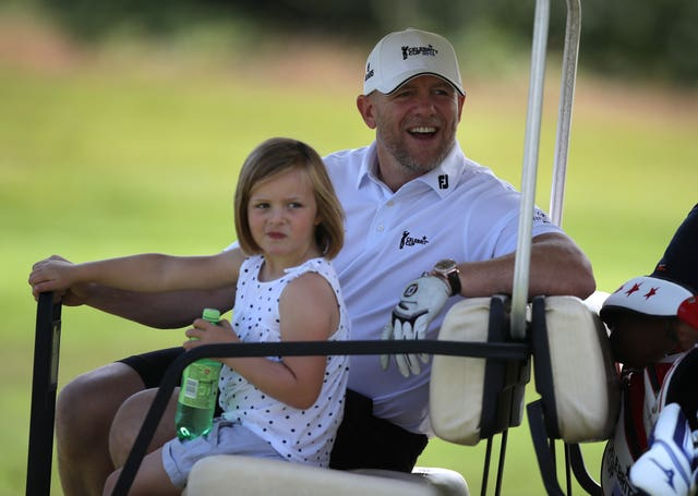 Mia and Mike Tindall