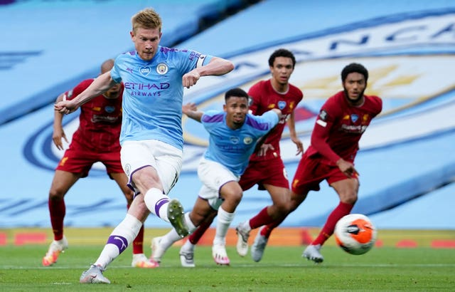 Kevin De Bruyne was also on top form