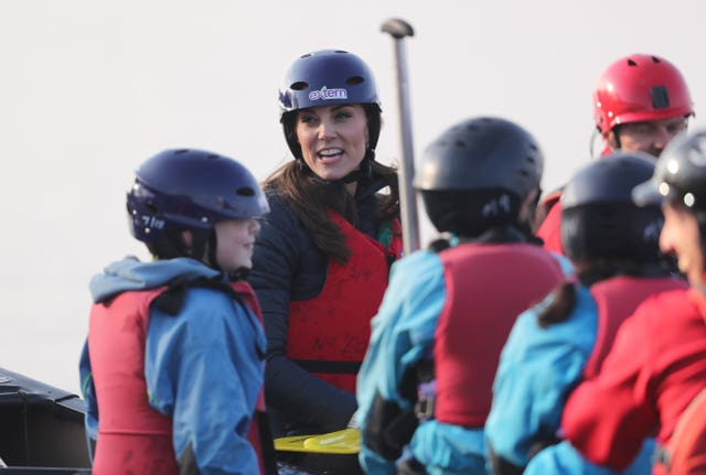 Duke and Duchess of Cambridge visit to NI – Day 1