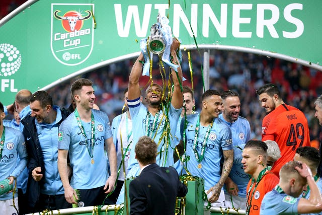 City are bidding for a third Carabao Cup win in succession