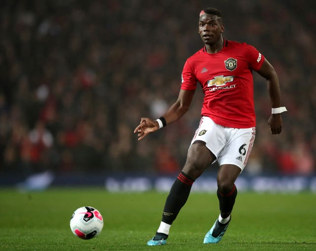Paul Pogba overcame injury to start