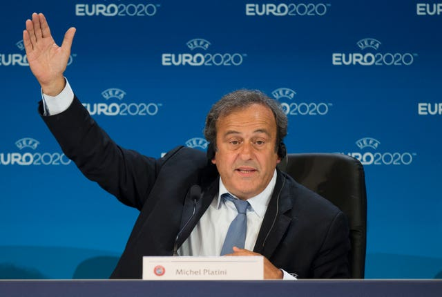 Michel Platini was the head of UEFA until 2015