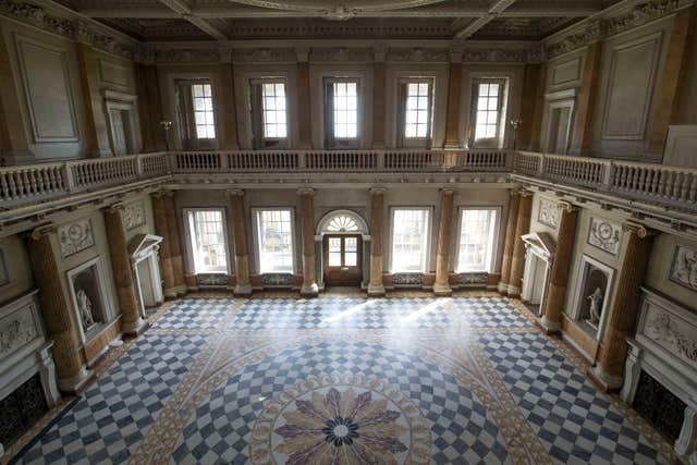 The Marble Saloon room (Aaron Chown/PA)