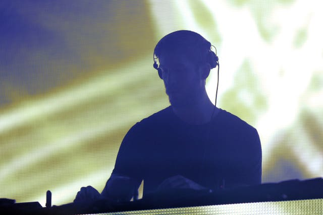Calvin Harris on stage