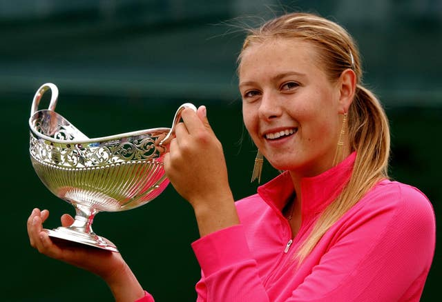 Sharapova, who defended her title in Birmingham, became the first Russian to top the WTA rankings in 2005