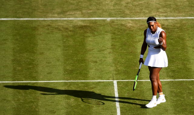 Serena Williams got off to a simple start on Centre Court