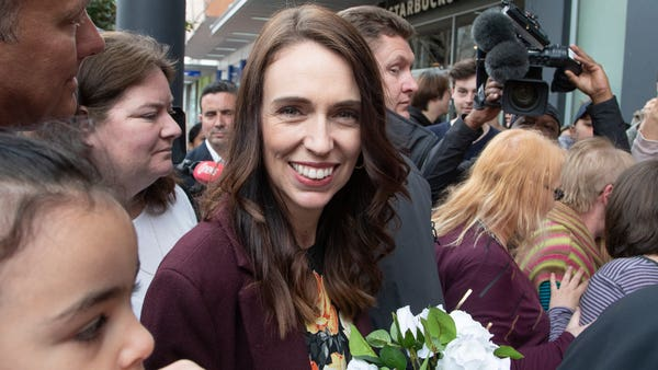 Ardern heading for big win as votes counted in New Zealand poll