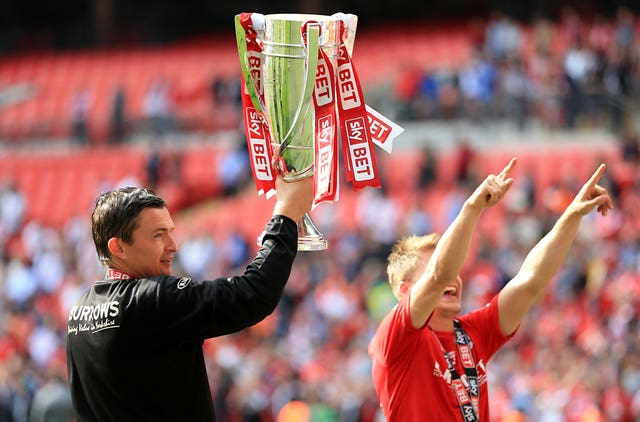 Paul Heckingbottom enjoyed double Wembley success with Barnsley