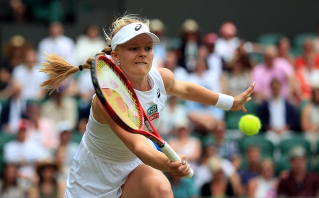 Harriet Dart lost in the first round at Flushing Meadows