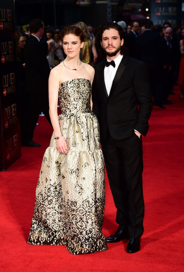 Game Of Thrones stars Kit Harington and Rose Leslie are set to get married in Scotland next month (Ian West/PA Wire)