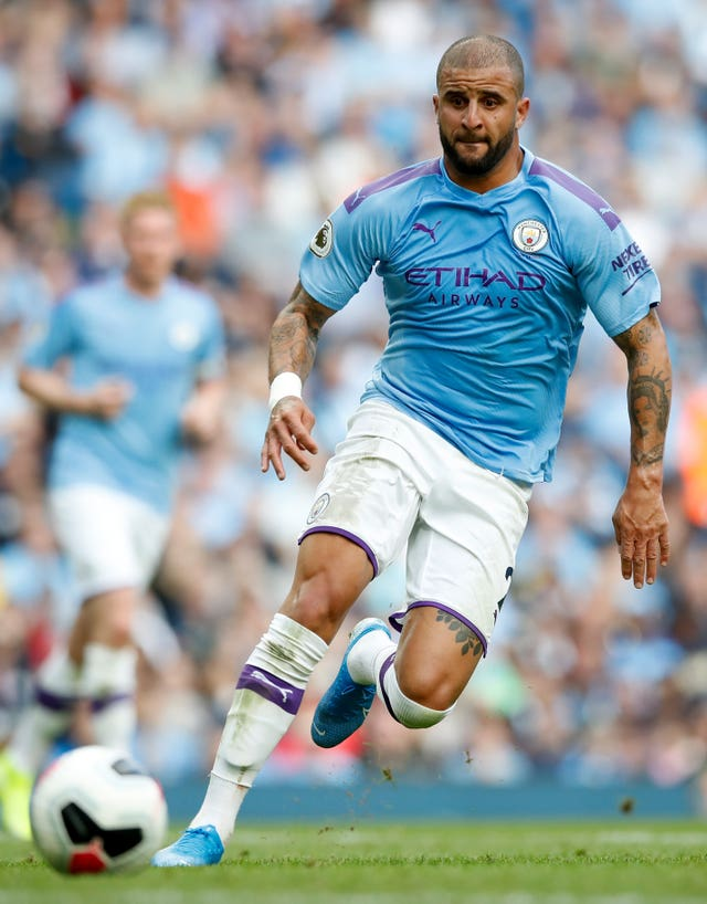 Manchester City's Kyle Walker was left out of the England squad