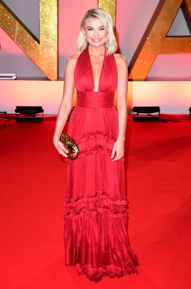 Georgia Toffolo  on the red carpet