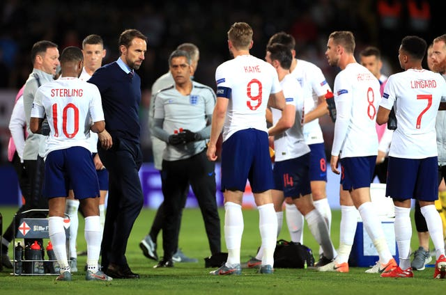 Gareth Southgate is confident England are capable of further improvement under his direction (Mike Egerton/PA)