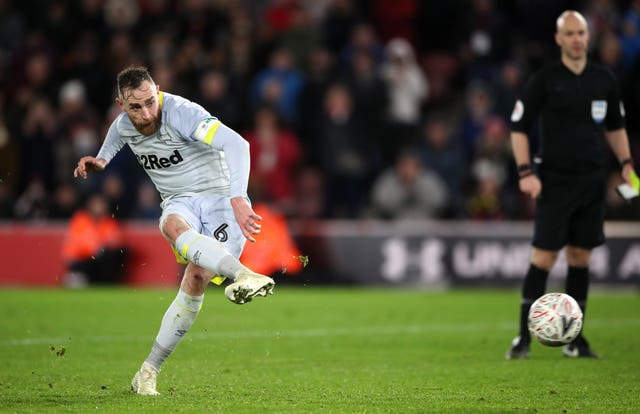Richard Keogh scored the winning penalty for Derby