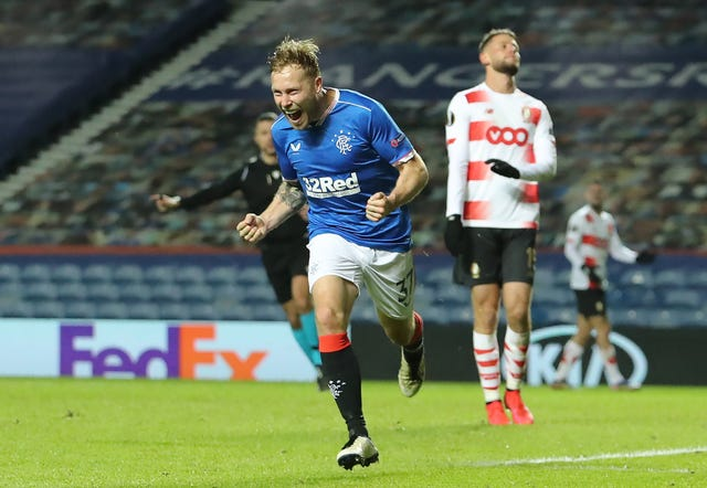 Scott Arfield scored Rangers' winner