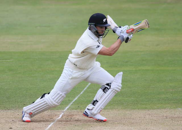 Kane Williamson looked utterly unflustered in reaching 23 not out at tea (Nigel French/PA)