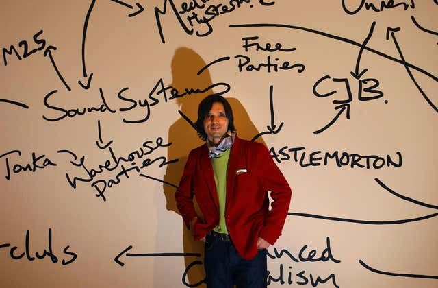 Jeremy Deller in 2004, the year he won The Turner Prize