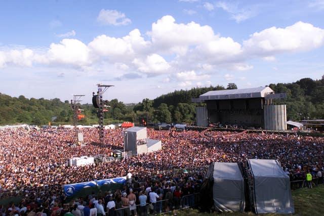Ire Slane Concert stage