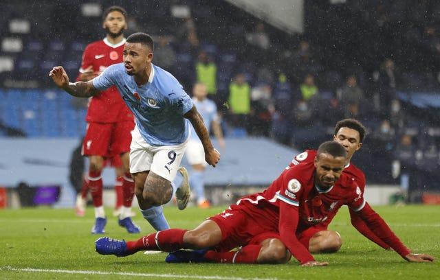 Jesus scored a superb equaliser for City