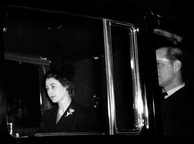 Royalty - Death of King George VI - London