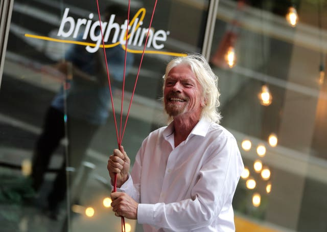 Richard Branson, of Virgin Group