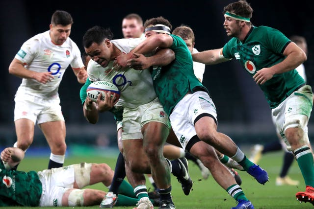 Ireland came off second best against England at Twickenham