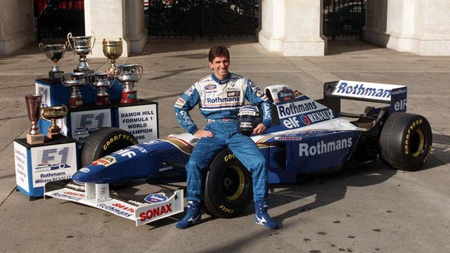 Hill became F1 champion in 1996 (PA).