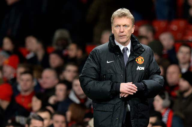 David Moyes was manager of Manchester United in the 2013-14 campaign