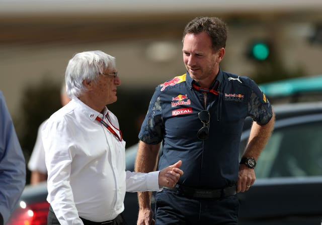 Bernie Ecclestone, left, has had his say on the F1 calendar
