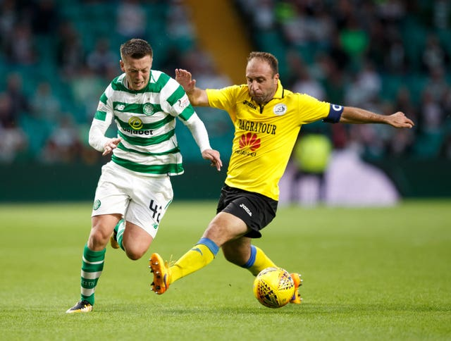 Callum McGregor's campaign started against Alashkert in July
